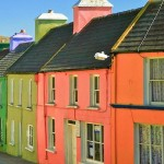 Pastel Village, Berra Peninsula, County Cork, Ireland