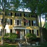 Captain Lord Mansion, Kennebunkport, Maine, United States, Exterior