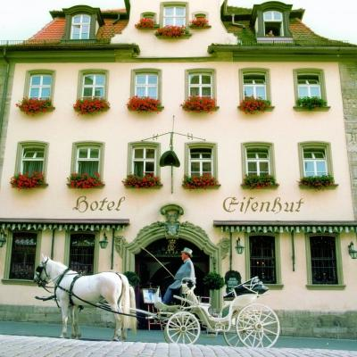 Eisenhut Hotel, Rothenburg, Germany, Exterior