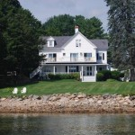 The Maine House looks out to the sea