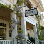 McCloud B&B Hotel Front - Spring