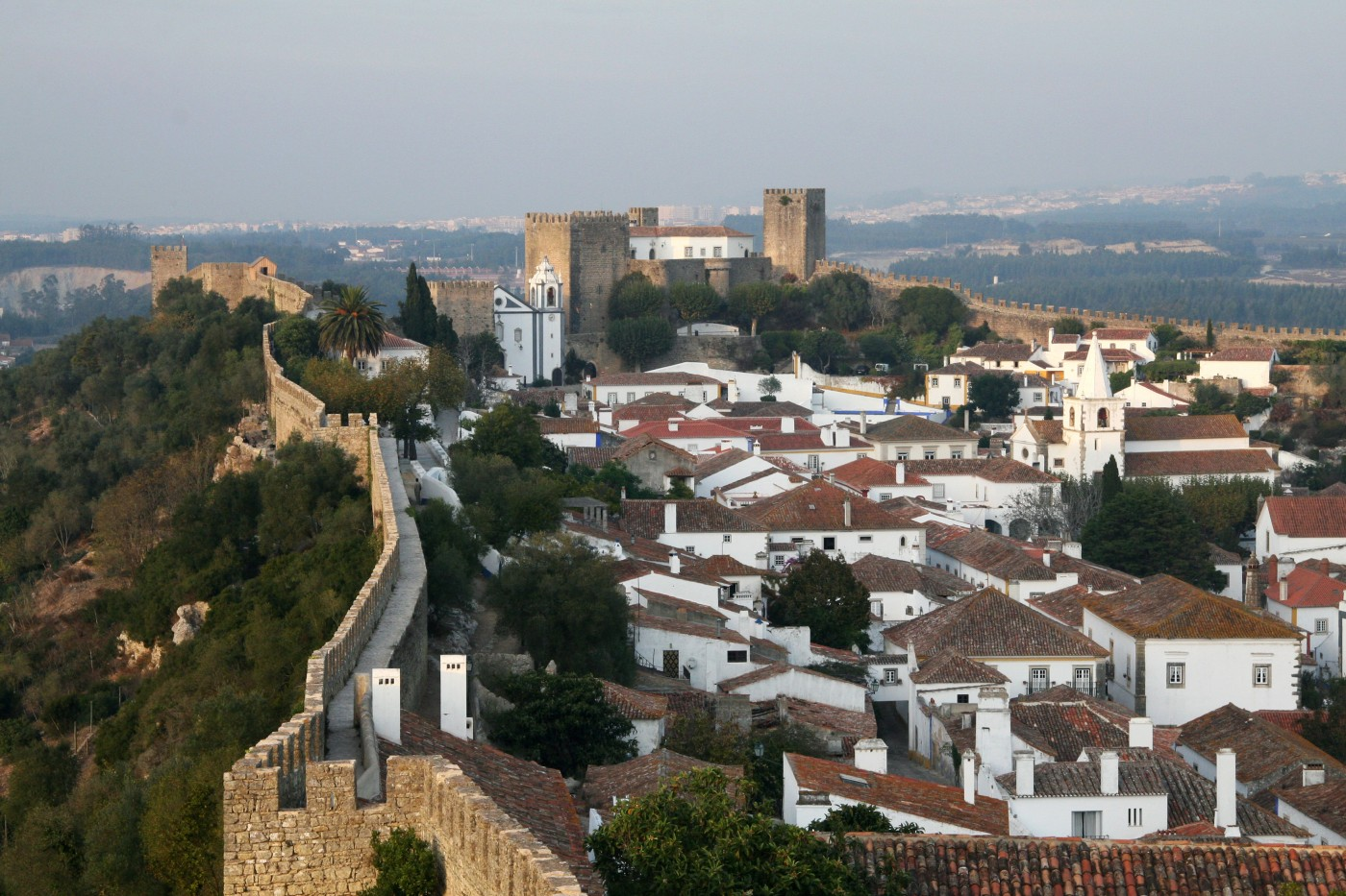 Obidos Karen Browns World Of Travel - Portugal map obidos