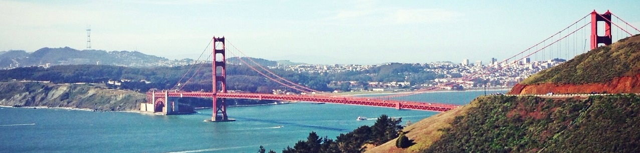 Golden Gate Bridge, San Francisco and Marin Headlands, California