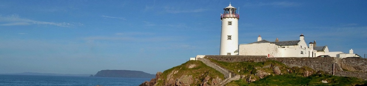 Fanad Head Lighthouse, Ulster, Ireland, photo credit: Keith Shoebridge