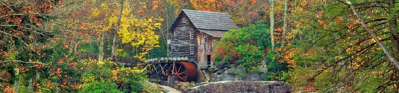 Old Grist Mill, West Virginia, Mid Atlantic States, phot credit: Ryan