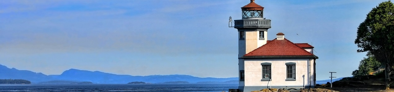 Lime Kiln Lighthouse, Washington, Pacific Northwest photo credit: cbclements
