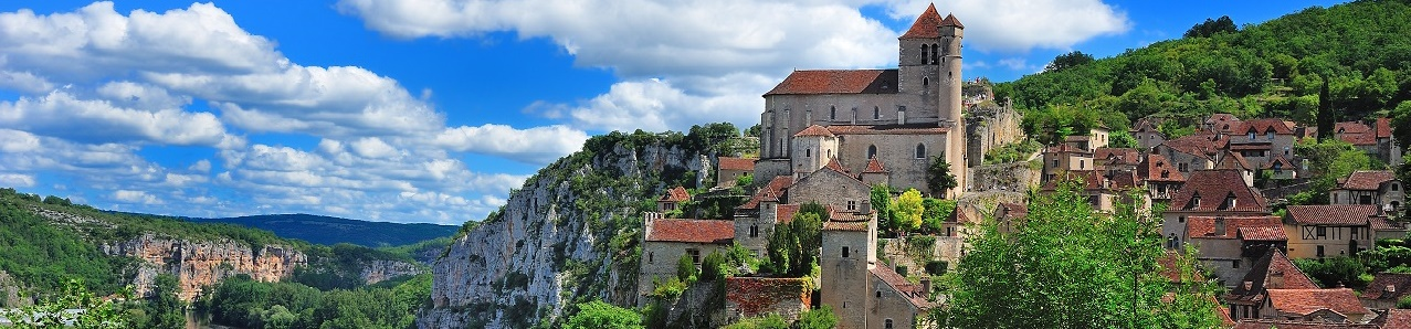 St Cirq Lapopie, Lot River Valley, Aquitaine, France