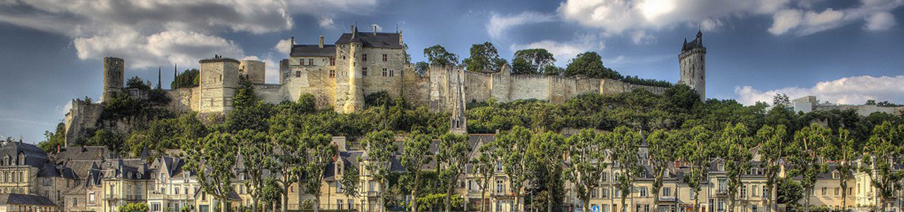Chinon Castle, Loire Valley, France