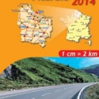 Michelin France Map 511 Nord Pas de Calais Picardy
