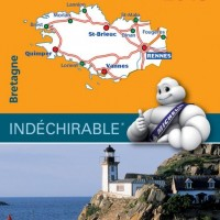 Michelin France Map 512 Bretagne  Brittany