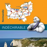 Michelin France Map 513 Normandie Normandy