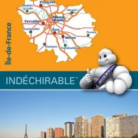 Michelin France Map 514 Ile de France