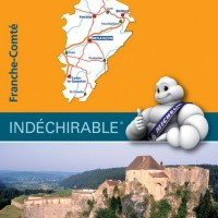 Michelin France Map 520 Franche Comte
