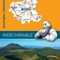 Michelin France Map 522 Auvergne Limousin