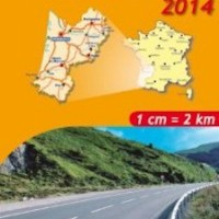 Michelin France Map 524 Aquitaine