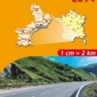 Michelin France Map 526 Languedoc Roussillon