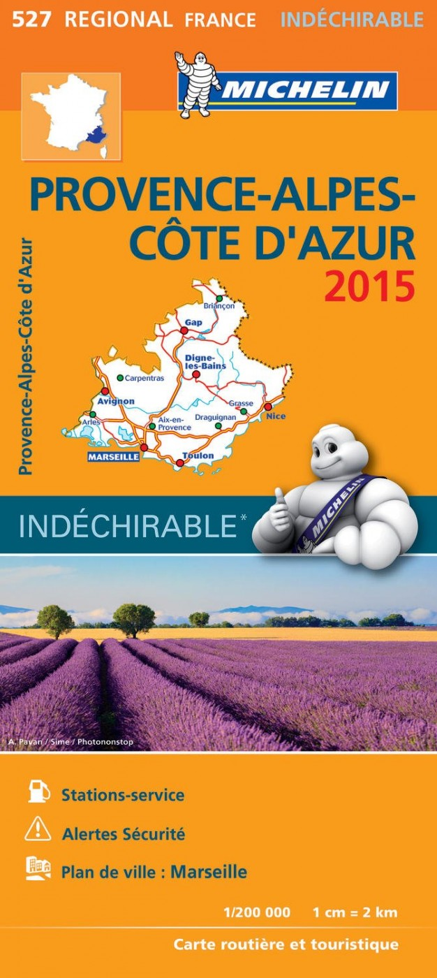Michelin France Regional Map 527 Karen Browns World of Travel