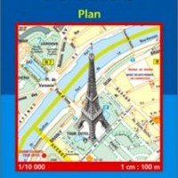 Michelin France Map 54 Paris
