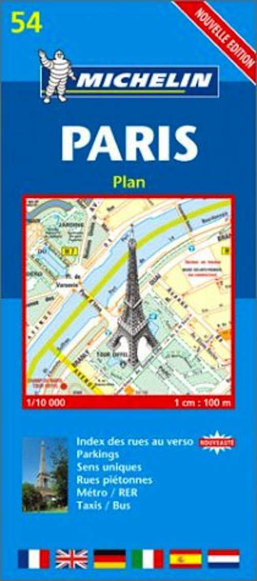 Michelin paris map 55 karen brown 39 s world of travel - Boutique michelin paris ...