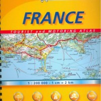Michelin France Map Touring Atlas