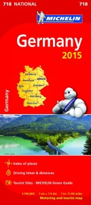 Michelin Germany 718 2015
