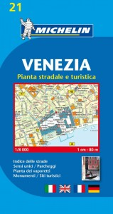 Michelin Italy Map 21 Venice