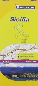 Michelin Italy Map 365 Sicily