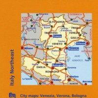 Michelin Italy Map 562 Northeast