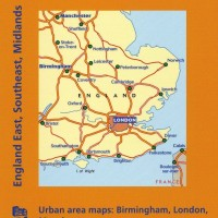 Michelin Map 504 England East Southeast Midlands