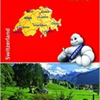 Michelin Map 729 Switzerland 2015