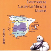 Michelin Spain Map 576 Central Castile La Mancha Madrid