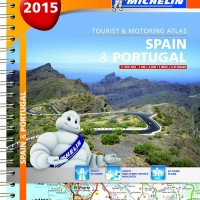 Michelin Spain & Portugal Road Atlas 2015