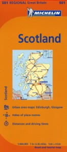 Michelin Map Scotland 501