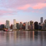Pacific Northwest-British Columbia-Vancouver skyline at sunset - ericho180     e5795951534_1cfa2824e1_o