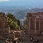 Ancient city of Taormina, Sicily, Italy photo credit: Berthold Werner