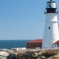 Portland Lighthouse, Portland Maine, New England
