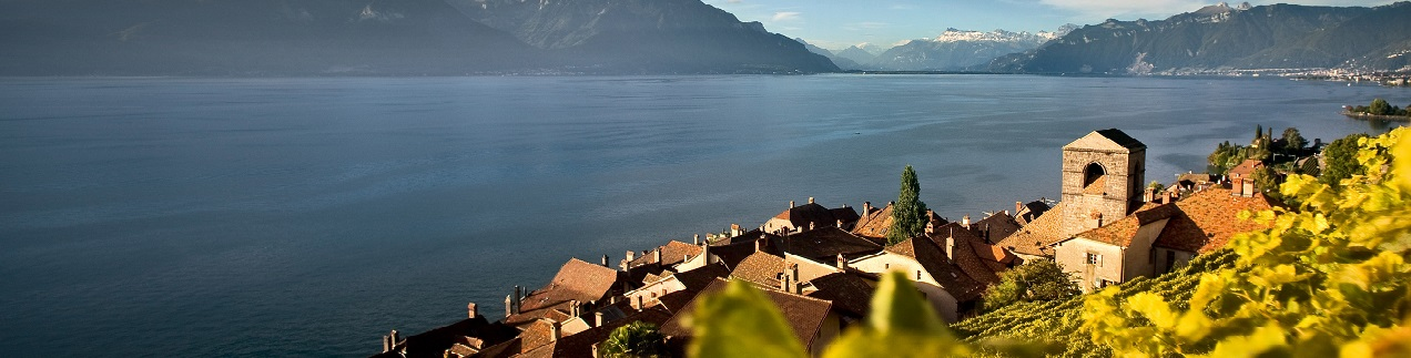 Lake Geneva and wine region, photo credit: Marcus Gyger