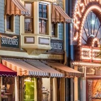 Main Street, Disneyland, California