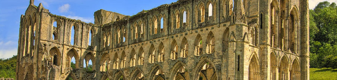 Rievaulx Abbey, Derbyshire dales, England photo credit: Trevor Kersley