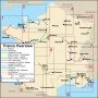 France Overview Itinerary Map
